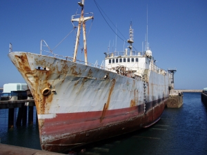 """VOLGA"" prior to shipbreaking"
